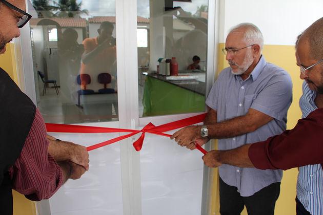 Comunidade do Bairro Campo Grande recebe Unidade de Saúde completamente reformada