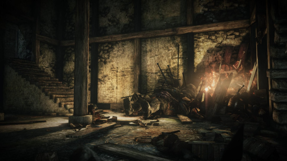 Dark Souls 2 and its lighting look