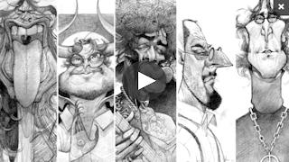 Curso de Retrato en caricatura con grafito