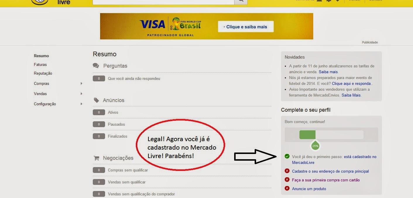66959d82afb O sistema de vendas pela internet (Mercado Livre) - Como se ...