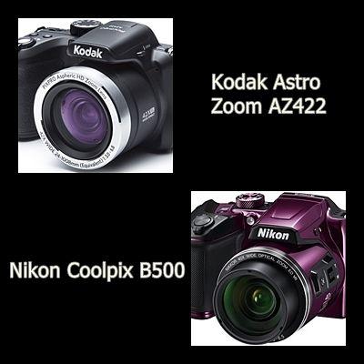 COMPARATIVA DE CÁMARAS COMPACTAS : Nikon Coolpix B500 VS Kodak Astro Zoom AZ422