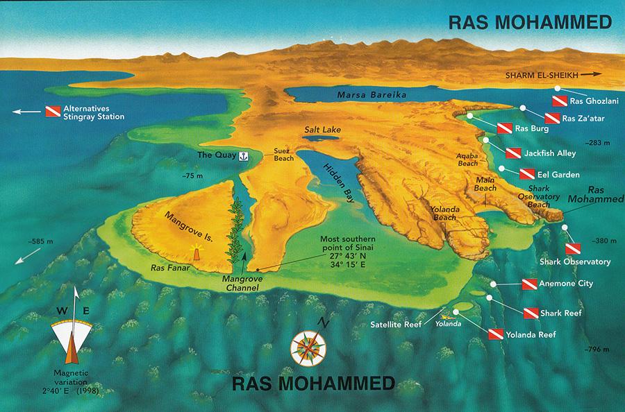 Ras Mohammed 3D Atlas