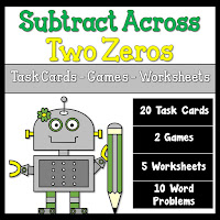 Subtract Across Two Zeros