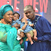 Evangelist Chidi Ibenado & wife Pastor (Mrs) Mitchelle Ibenado Returns Double Honour To The Lord Almighty as they dedicate their twin babies.