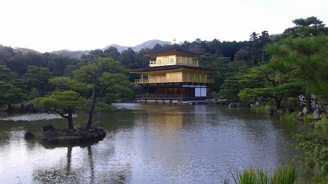 templo dorado Kinkakuji,