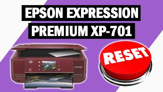Reset impresora Epson Expression Premium XP-701