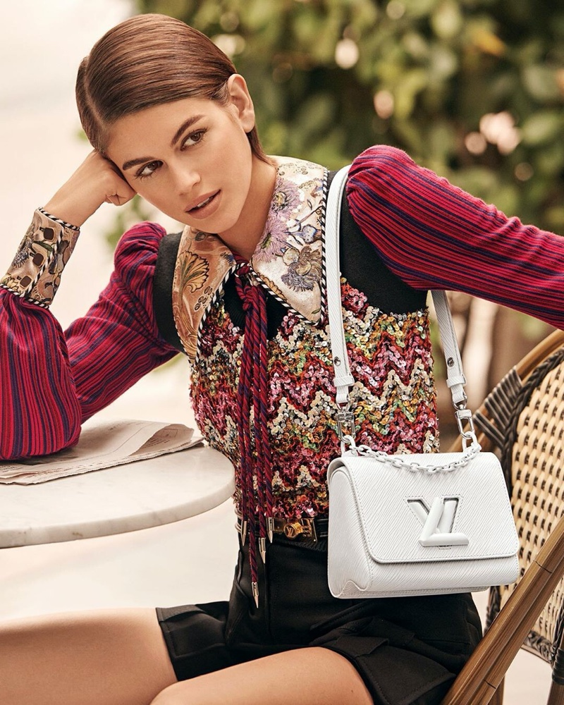 Louis Vuitton taps Kaia Gerber for Twist spring 2020 handbag campaign
