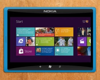 tekno harga dan spesifikasi, Tablet Nokia romored, Picture of Nokia Tablet