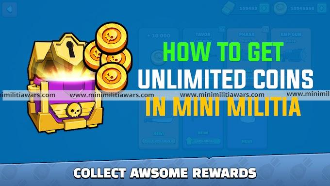 How to get unlimited coin in mini militia? Mini Militia MOD APK (Unlimited Gold and Money)