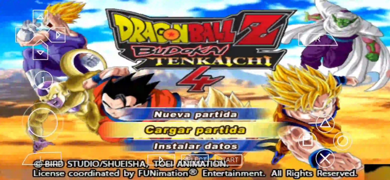 Dragon Ball Z Budokai Tenkaichi 4 PPSSPP ISO Download