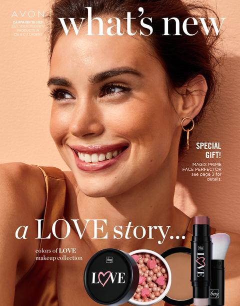 Click On Image To Learn About Avon What's New Campaign 18 2021