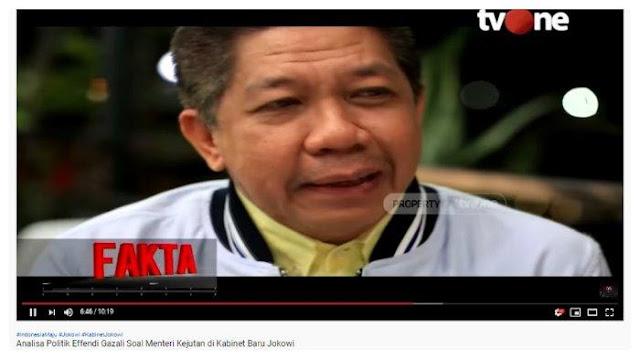 Prabowo Kini Jadi Menhan, Effendi Gazali Ungkap Posisi Awal yang Ditawarkan Jokowi: Tapi Dia Gak Mau