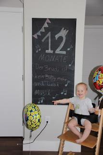 Tafelbild 10 Monate Brudi