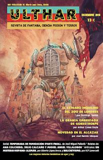 ¡NUEVO! Revista Ulthar nº07. 13 euros