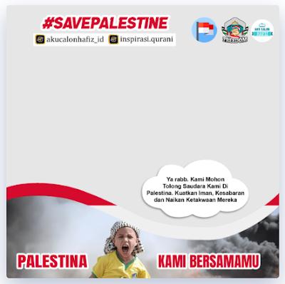 Twibbon Ayo Doakan Palestina 2021