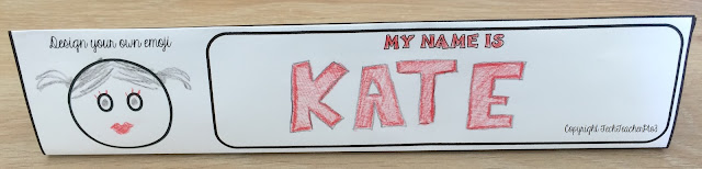 nameplate, desk name, student, first day, school, teacher, primary