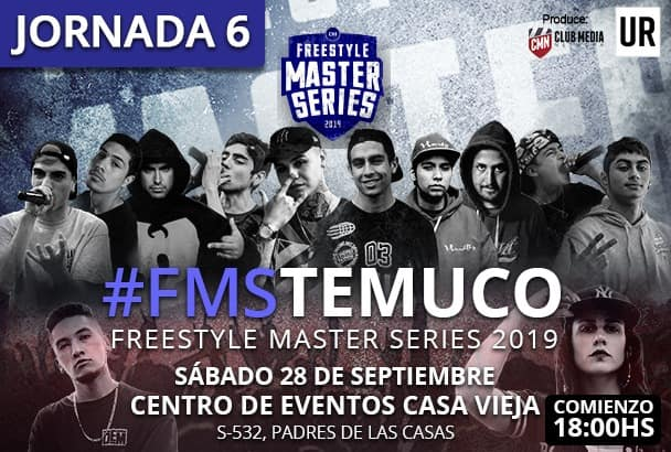 Horario y dónde ver la jornada 6 de FMS Chile este sábado en Temuco