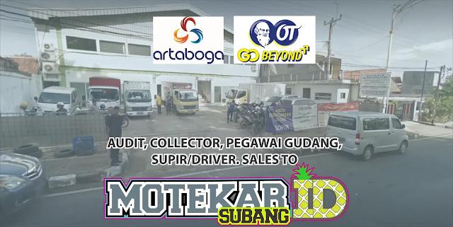 Info Loker Walk Interview PT. Artaboga Cemerlang Purwakarta 2019