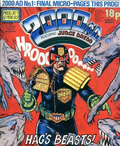 2000 AD prog 307, Judge Dredd