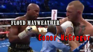 pertandingan tinju Floyd Mayweather Vs Conor McGregor
