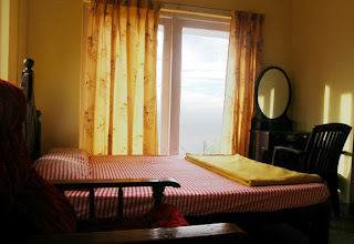 homestay in munnar with view from room