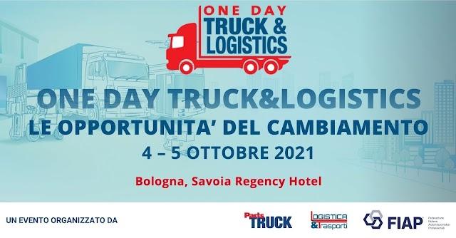 "A Bologna ""Onedaytruck&logistics"""