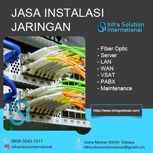 Jasa Instalasi Jaringan Bangkalan Enterprise
