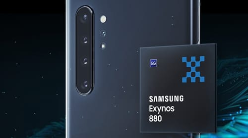Samsung launches Exynos 880 processor the latest 5G processor