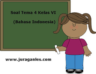 Berikut ini adalah contoh latihan Soal Tematik Kelas  Soal Tematik Kelas 6 Tema 4 Kompetensi Dasar Bahasa Indonesia