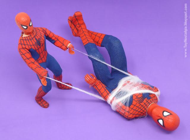Mego Spider-Man 8 y 12 pulgadas    (MEGO - World's Greatest Super Heroes!)