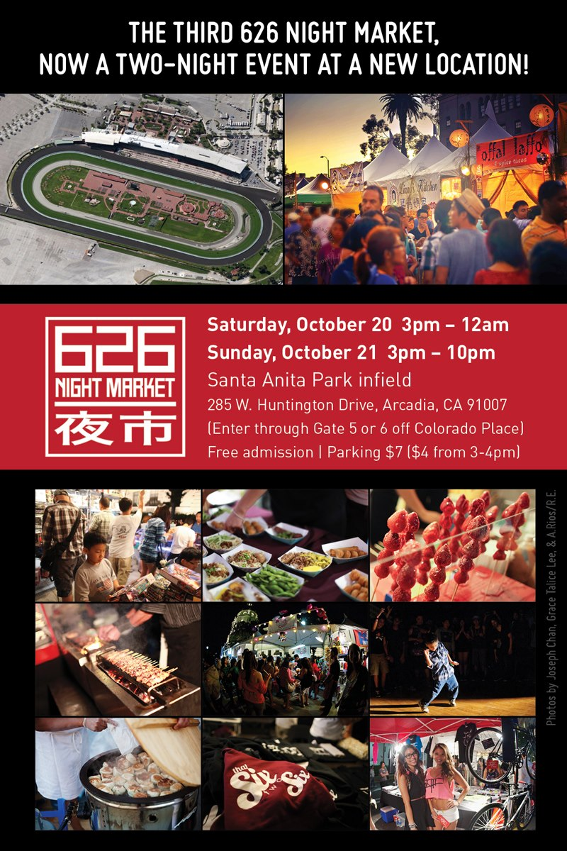 Things To Do In Los Angeles 626 Night Market Oct 20 21