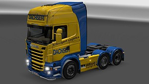 Dachser paint job for Scania R