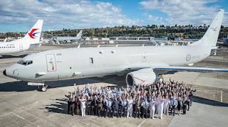 Pesawat P-8A Poseidon AU Australia