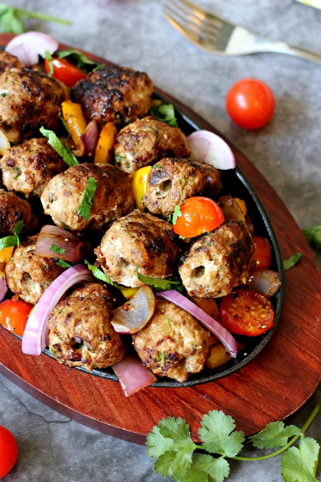 Pakistani-Style Gola Kebab