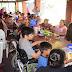 Un almuerzo inclusivo donde abundaron sonrisas, alegrías  y emociones