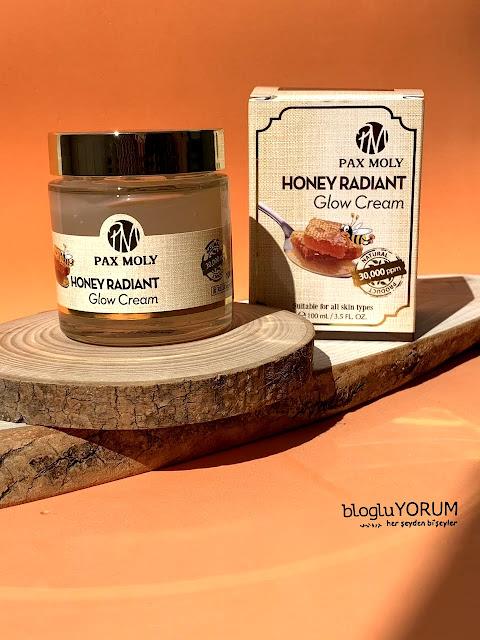 limonian pax moly honey radiant glow cream bal özlü krem kullananlar