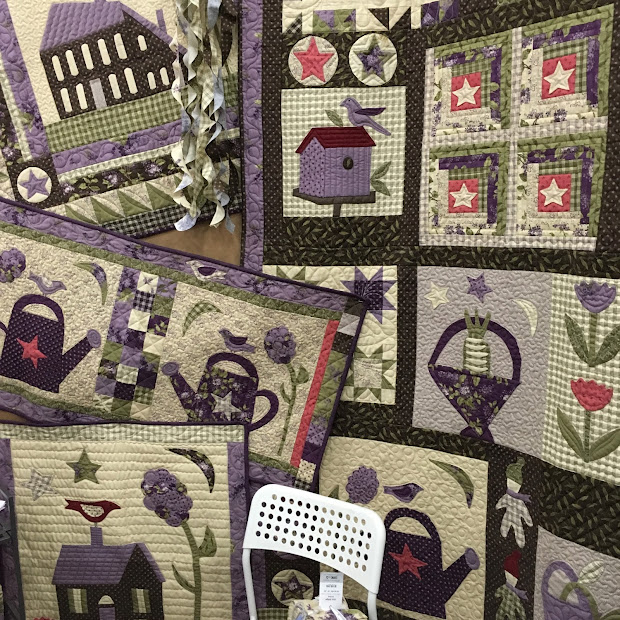 Jan Patek Quilts Lilac Ridge Fall Market In Houston