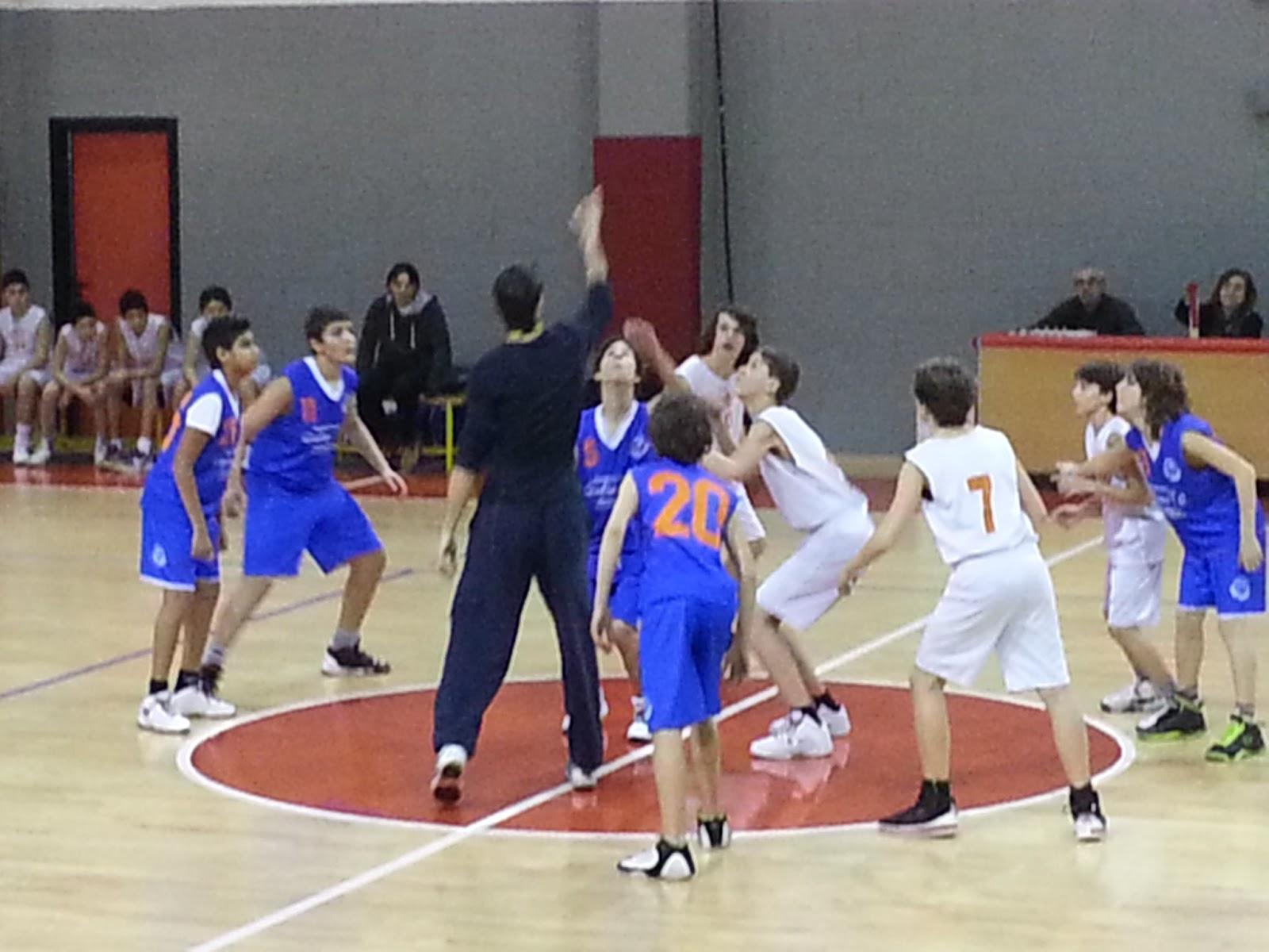 Scuola Media Vergani Novate Milanese.Polisportiva Novate Basket Minibasket