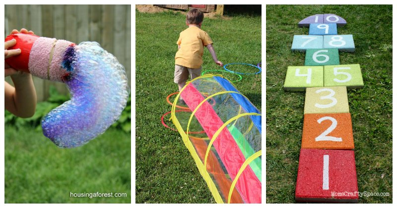 10 Awesome Rainbow Activities to Play Outside