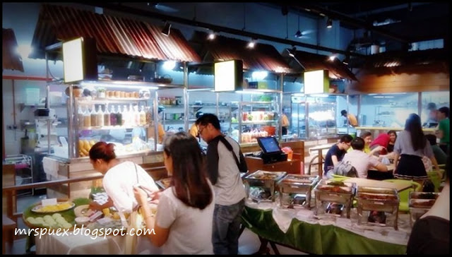 Lebih 60 juadah Buffet Ramadhan Di Streat Thai - Authentic Thai Street Eat, Petaling Jaya