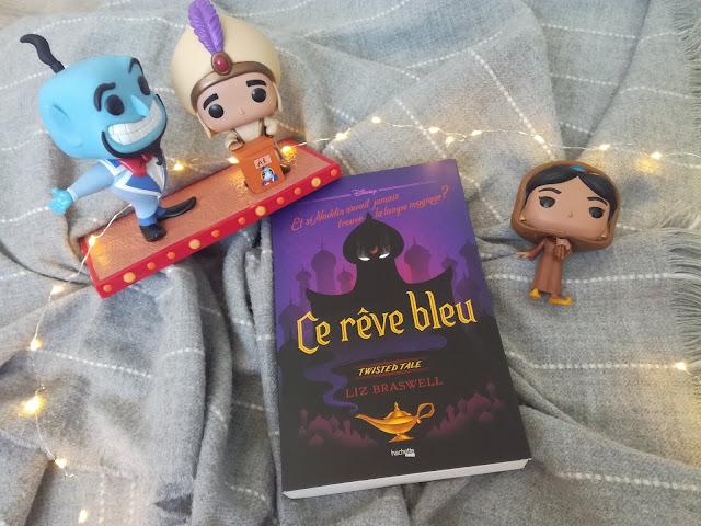 Ce rêve bleu de Liz Braswell Disney heroes hachette