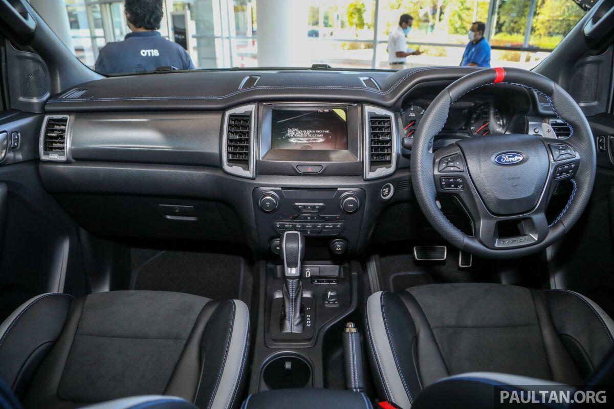 Ford Ranger Raptor 2020 ra mắt tại Malaysia có giá 1,125 tỷ đồng