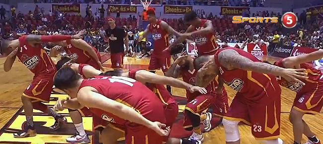 Gilas Pilipinas vs. PBA Visayas All-Stars DANCE Showdown (VIDEO)