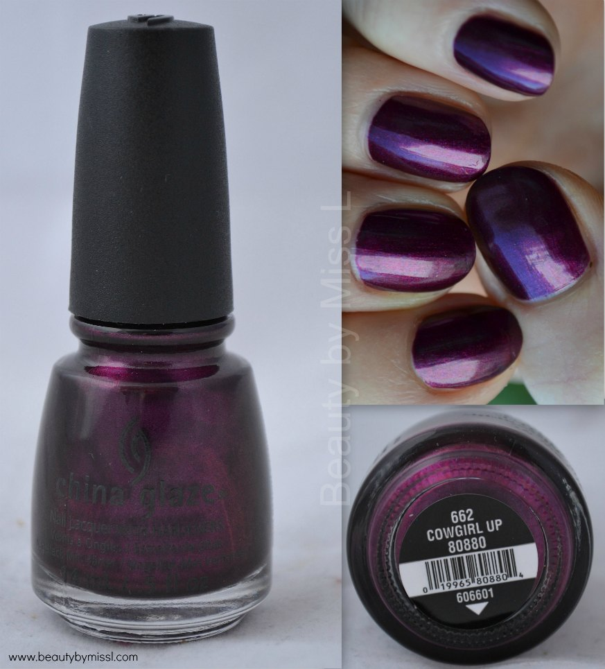 China Glaze Cowgirl Up swatches & review