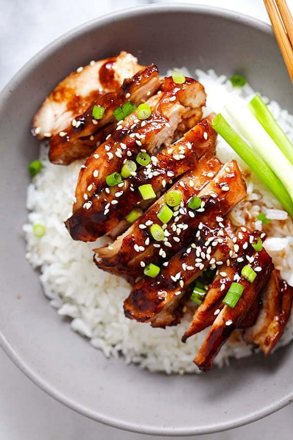 Soy-Glazed Chicken Recipe