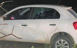 Candidato a prefeito tem carro atingido por tiros na Bahia