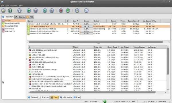 qbittorrent, aplikasi download torrent terbaik untuk Windows dan Mac