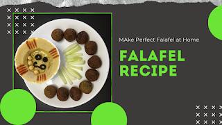 Falafel Recipe | How to make Falafel | 100% Vegan | फलाफल बनाने की आसान रेसपी