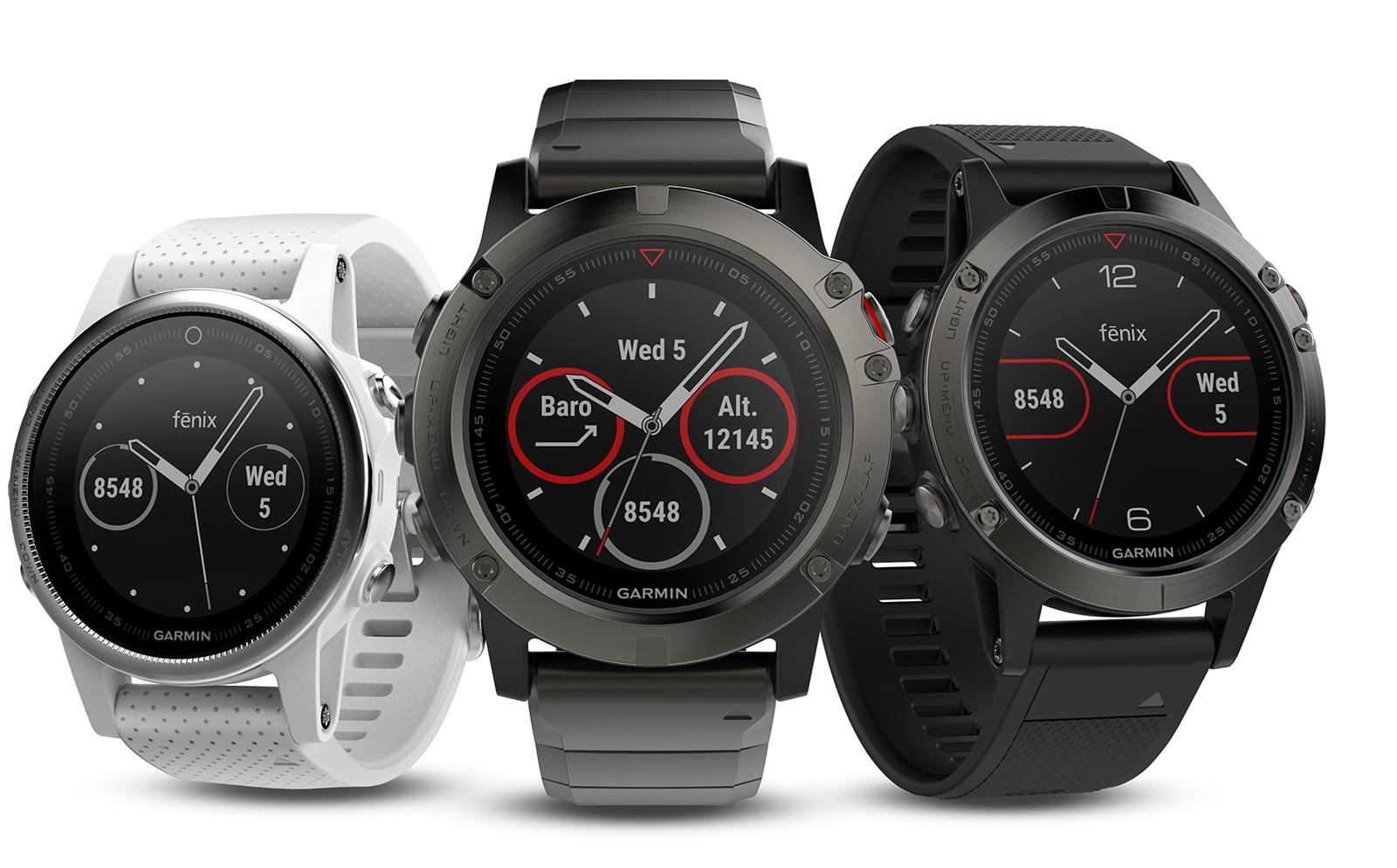 Garmin Malaysia, AECO Technologies, Garmin wearables, Fenix 5 Series, Fenix 5, Fenix 5 Sapphire, Fenix 5S, Fenix 5S Sapphire, Fenix 5X, multisport watches, waterproof wearable, waterproof fitness tracker, heart rate tracker,