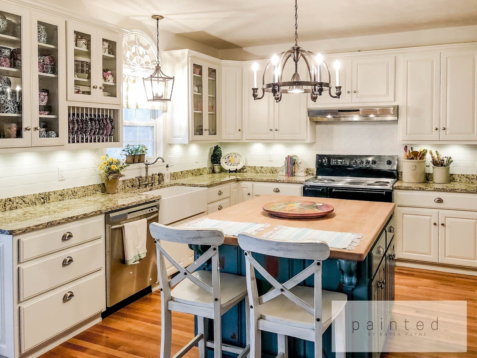 the power of white paint kitchen cabinets renovation